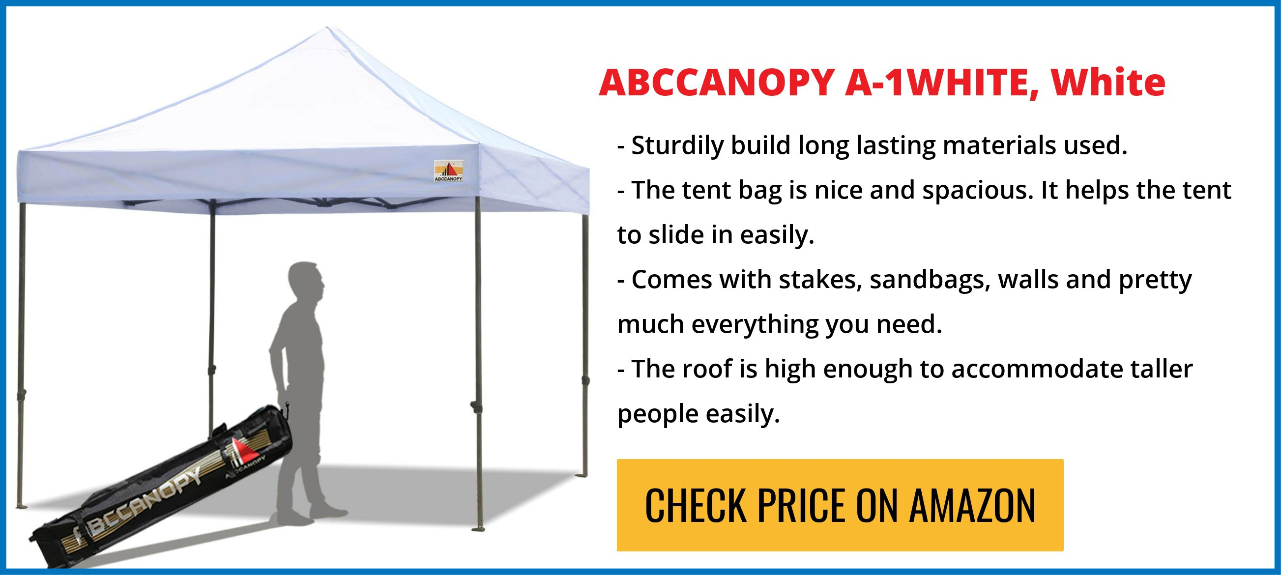 Abccanopy Reviews (KingKong Series And Commercial Instant Pop Up Canopy)