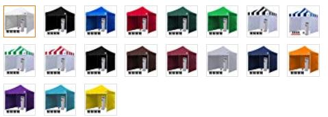Eurmax Canopy Colors