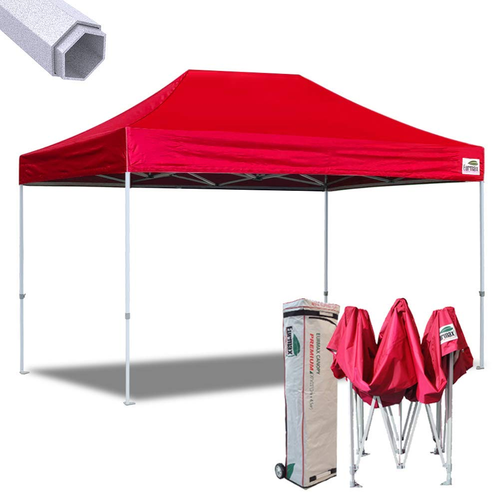 Eurmax 10x15 Feet Premium Ez Pop up Canopy Instant Shelter