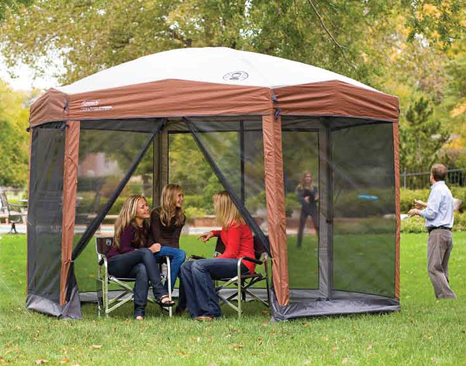 coleman pop up canopy reviews