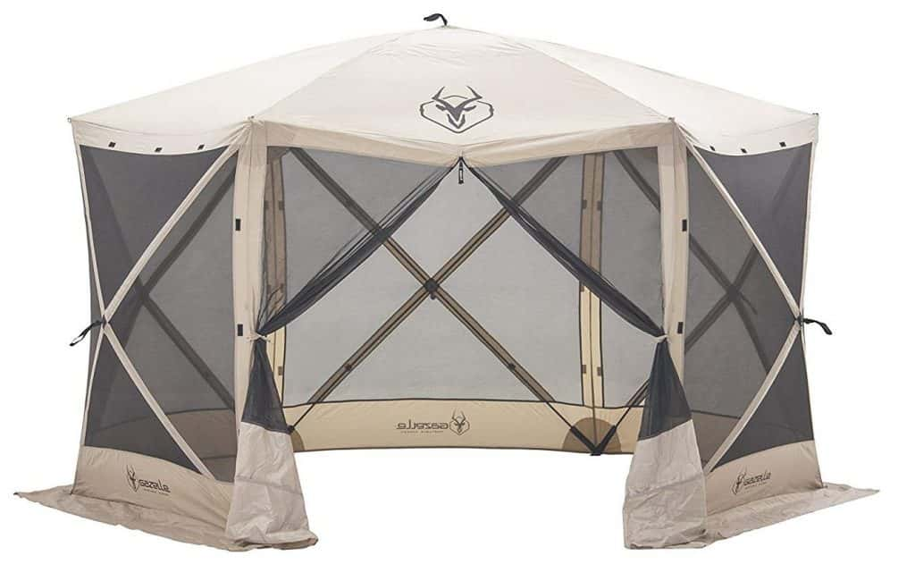 Gazelle Pop Up Portable 6 Sided Hub Gazebo