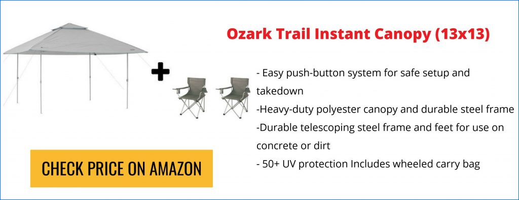 Ozark Trail 13×13 Canopy Review