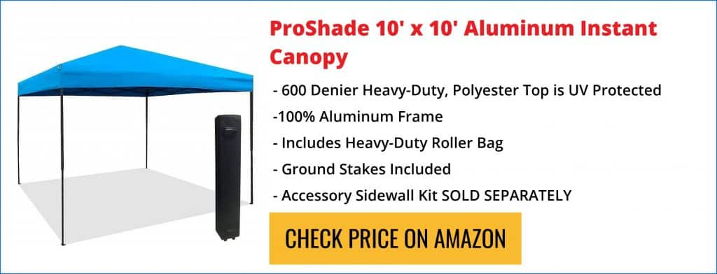 Proshade Canopy Reviews