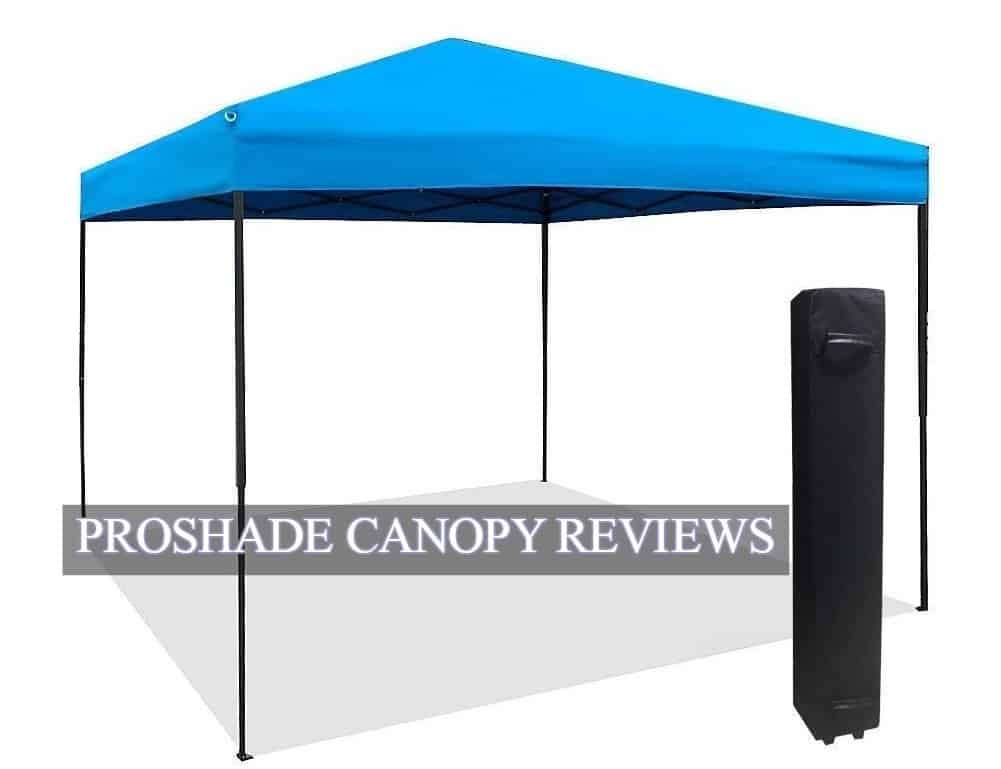 Pro shade Canopy Reviews