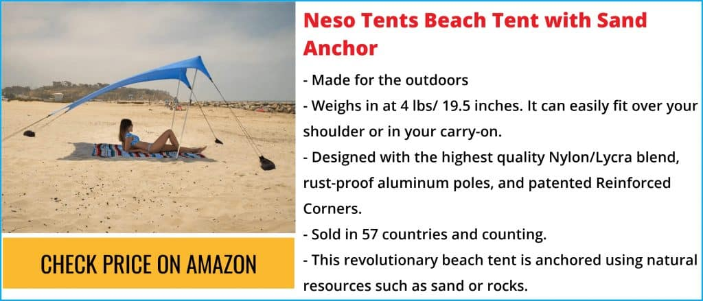 THE BEST BEACH CANOPY FOR WIND