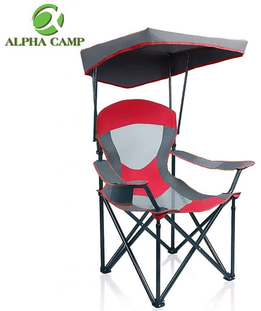 ALPHA CAMP Mesh Canopy Chair