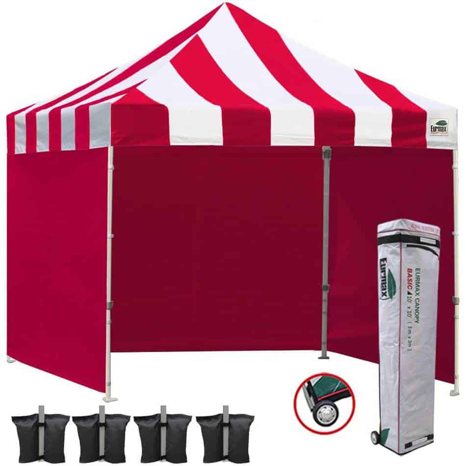 Eurmax 10x10 Ez Pop Up Canopy Outdoor Canopy Instant Tent
