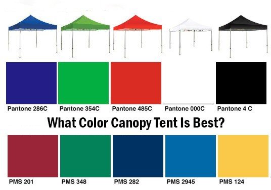 What Color Canopy Tent Is Best